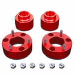 """09-18 Dodge RAM 1500 Red 2.5"""" Front 2"""" Rear Complete Leveling Lift Kit"""