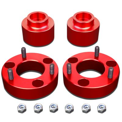 "09-18 Dodge RAM 1500 Red 2"" Front 2"" Rear Complete Leveling Lift Kit"