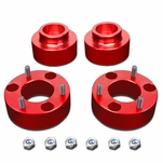 """09-18 Dodge RAM 1500 Red 3"""" Front 1.5"""" Rear Complete Leveling Lift Kit"""
