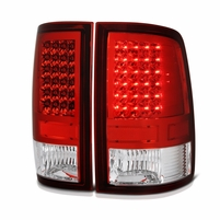 09-2018 Dodge RAM Pickup LED Tail Lights [Non OE-LED Tail Lights Model] - Red Clear