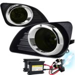 HID Xenon + 2010-2011 Toyota Camry OEM Style Smoked Fog Lights Kit