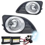 HID Xenon + 2010-2011 Toyota Camry OEM Style Clear Fog Lights Kit