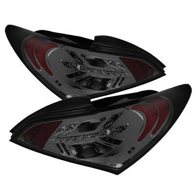 10-12 Hyundai Genesis Coupe Euro Style LED Tail Lights - Smoked ALT-YD-HYGEN09-LED-SM By Spyder