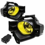 10-12 Nissan Altima 4-Door L32A Yellow Lens Oe Driving Fog Light Lamp+Switch