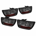 2010-2012 Chevy Camaro Euro Style LED Tail Lights - Smoked ALT-YD-CCAM2010-LED-SM By Spyder