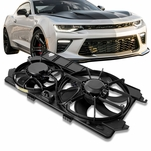 10-13 Ford Transit Connect 2.0L Dual Radiator Cooling Fan Shroud FO3115180