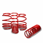 "10-13 Kia Soul 1"" Drop Suspension Lowering Springs - Red"
