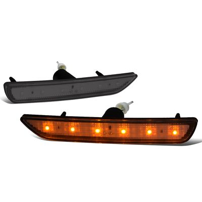 10-14 Ford Mustang Smoked Lens Fornt LED Side Markers