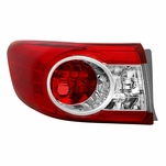 11-13 Toyota Corolla Driver Side Tail Light Outer - OEM Left