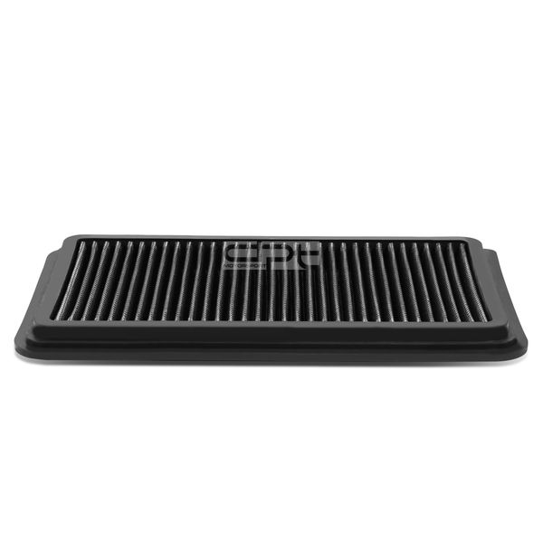 11-14 Mazda 2 1.5L Reusable & Washable Replacement High Flow Drop-in Air Filter (Silver)
