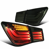 11-15 Chevy Cruze Optic-Style LED Tail Lights - Smoked