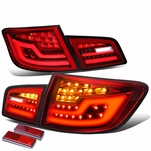 11-16 BMW F10 5-Series Sequential Signal LED Tail Lights - Red