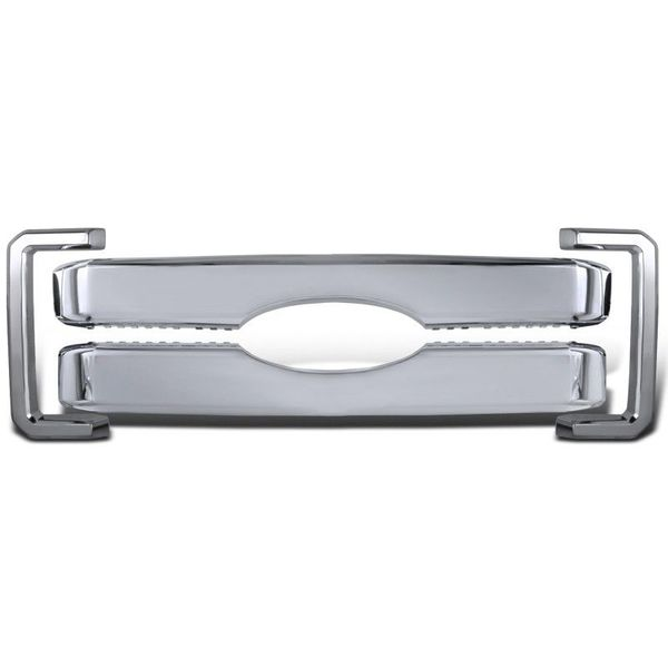 11-16 Ford F250 F350 F450 F550 Super Duty Chrome Hood Grille Grill Overlay Cover