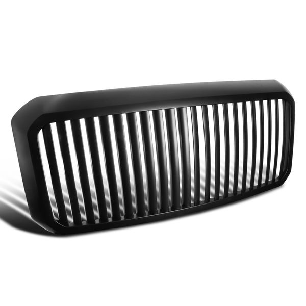 11-16 Ford F250 F350 SuperDuty Vertical Style Matte Black Front Grille