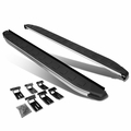 11-17 Grand Cherokee Pair of 5.75-inch Aluminum Side Step Nerf Bar Running Boards + Mounting Brackets