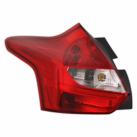 12-14 Ford Focus 5-Door Hatchback OE-Style Replacement Tail Lights Driver Left Side