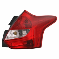 12-14 Ford Focus 5-Door Hatchback OE-Style Replacement Tail Lights Passenger Right Side