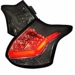 12-14 Ford Focus 5DR Hatchback Performance Full LED Tail Lights - Smoked