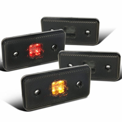 12-14 Mercedes Benz W465 G-Class LED Side Marker Front + Rear