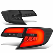 12-14 Toyota Camry 3D LED Tube Tail Lights - Smoked