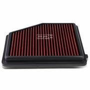 12-15 Honda Civic 1.8L / Acura ILX 2.0L Reusable & Washable Replacement High Flow Drop-in Air Filter (Red)