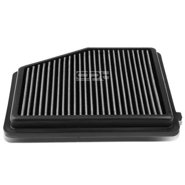 12-15 Honda Civic 1.8L / Acura ILX 2.0L Reusable & Washable Replacement High Flow Drop-in Air Filter (Silver)