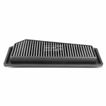 12-15 Mercedes Benz C250 / SLK250 1.8T Reusable & Washable Replacement High Flow Drop-in Air Filter (Silver)