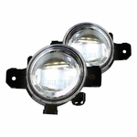 13-16 Nissan Pathfinder LED Replacement Fog Lights - Clear