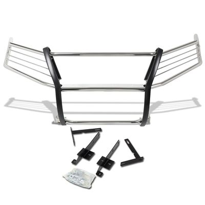 13-16 Nissan Pathfinder R52 Front Bumper Protector Brush Grille Guard (Chrome)