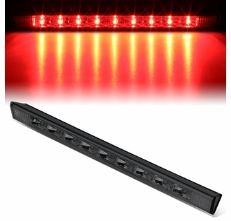 DNA Motoring 3BL-TRAV16-LED-SM Full LED 3rd Third Tail Brake Light Lamp Bar Toyota Rav4 Lexus GX460