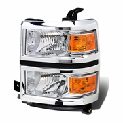 14-15 Chevy Silverado OE Style Left Headlight Lamp Replacement GM2502410