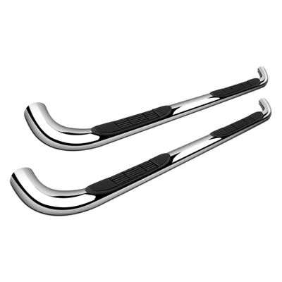 "15-16 Chevy Colorado GMC Canyon Extended Cab 3"" Chrome S/S Step Rail Nerf Bars"