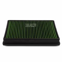15-17 A3 / TT / GTI / GOLF (TURBO MODEL) Reusable & Washable Replacement High Flow Drop-in Air Filter (Green)
