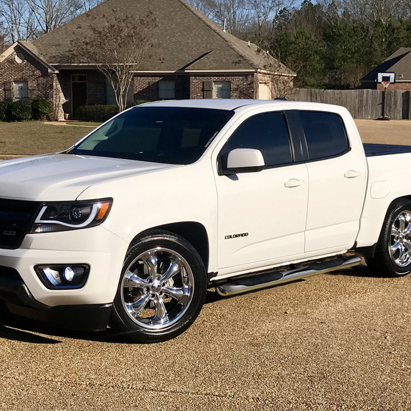 """4"""" Crew Cab For 2015-2020 Colorado Canyon Running Boards ..."""
