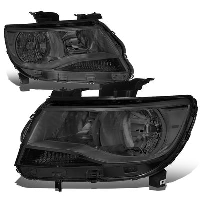 15-19 Chevy Colorado Replacement Crystal Headlights - Smoked / Amber