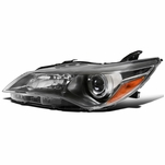 15-17 Toyota Camry Gunmetal Clear Driver Side Projector Headlight Left