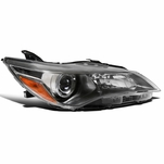 15-17 Toyota Camry Gunmetal Clear Passenger Side Projector Headlight Right