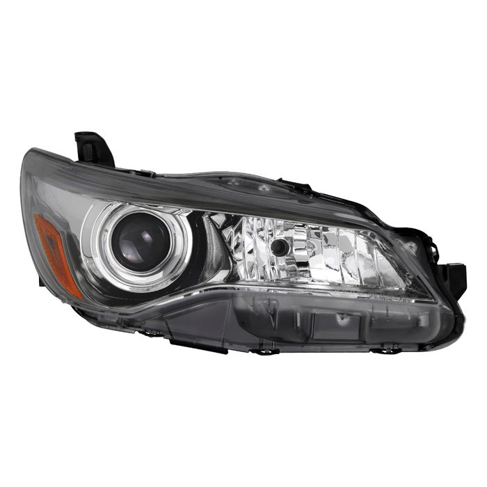 Projector Headlight Black Fits 15-17 Toyota Camry SE//XSE Passenger Right Side
