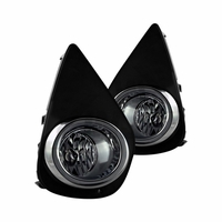 15-17 Toyota Yaris Fog Lights - Clear - Wiring Kit Included