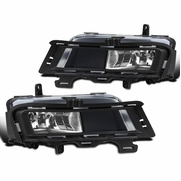 15-17 VW Golf Mk7 Clear Driving Fog Lights Front Bumper Lamps Left+Right