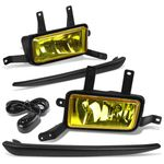 15-18 Chevy Suburban / Tahoe Pair of Bumper Driving Fog Lights - Amber