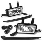 15-18 Chevy Suburban / Tahoe Pair of Bumper Driving Fog Lights - Clear