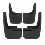 15-18 F150 Pickup With Fender Flares ABS Mud Flaps Mudguard Splash Guards