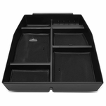 15-18 Ford F150 Removable Center Console Storage Box Armrest Organizer Tray