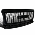 15-18 GMC Canyon Front Hood Square Mesh Grille - Black
