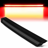 15-19 Chevy Tahoe Suburban 3D LED Bar 3rd Third Tail Brake Light Black Smoked