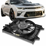 15-19 Dodge Charger Challenger 6.2L OE Style Radiator Cooling Fan Shroud CH3115190