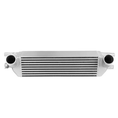 15-19 Ford Mustang 2.3L Ecoboost Bar&Plate Front Mount Intercooler Black