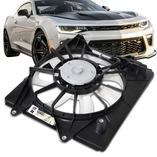 15-19 Honda Fit OE Style Replacement AC Condenser Cooling Fan Kit HO3113135