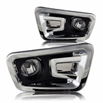 16-17 Nissan Titan Fog Lights - Clear - Wiring Kit Included